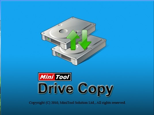Free copy disk software – MiniTool Drive Copy is free but