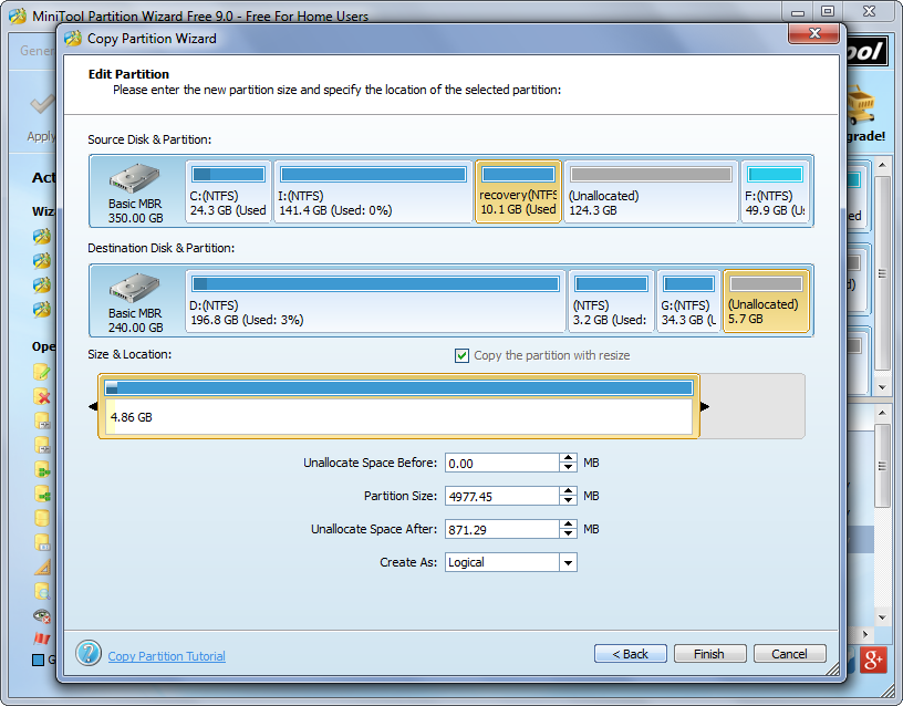 moving windows 7 from hdd to ssd