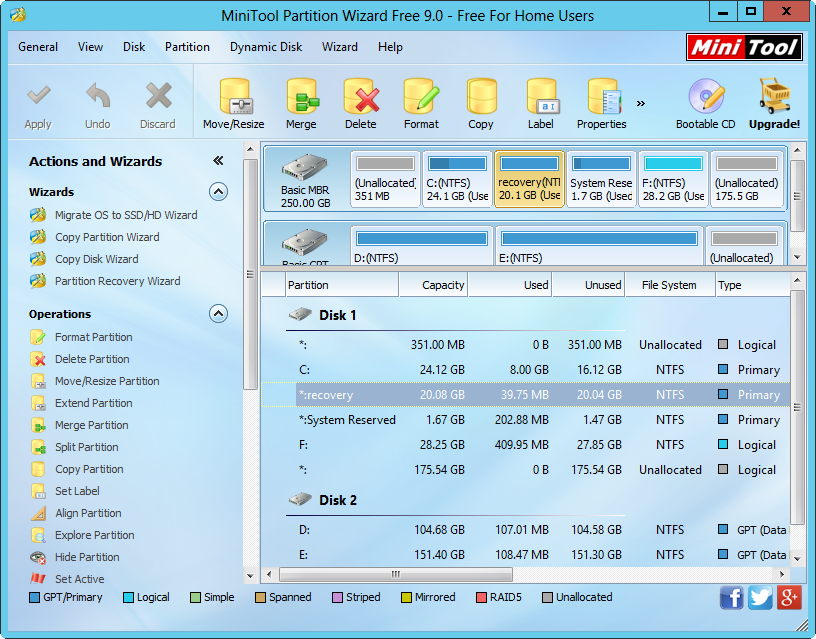 Several Steps to Migrate HP Recovery Partition to External Hard Drive