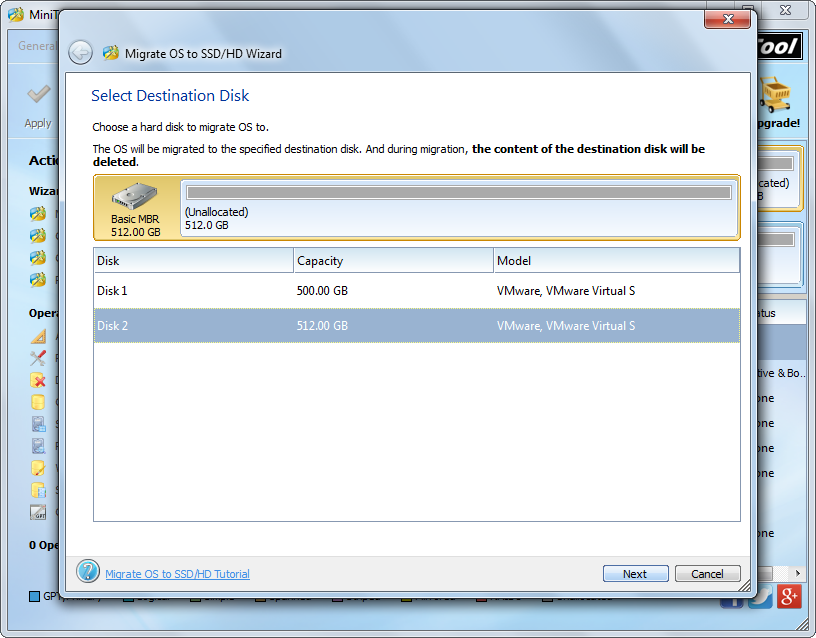 how to move windows 7 to a new ssd